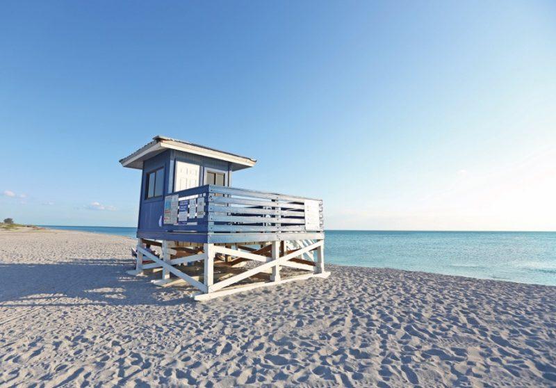 Pristine beaches beckon along the Florida coast Photo courtesy of Visit Sarasota, www.visitsarasota.org