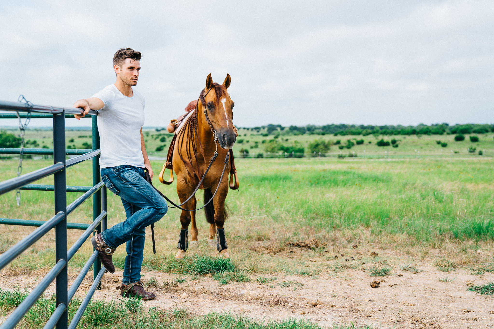 Horses and High Notes for Reality TV's Luke Pell: The Equestrian and Singer…