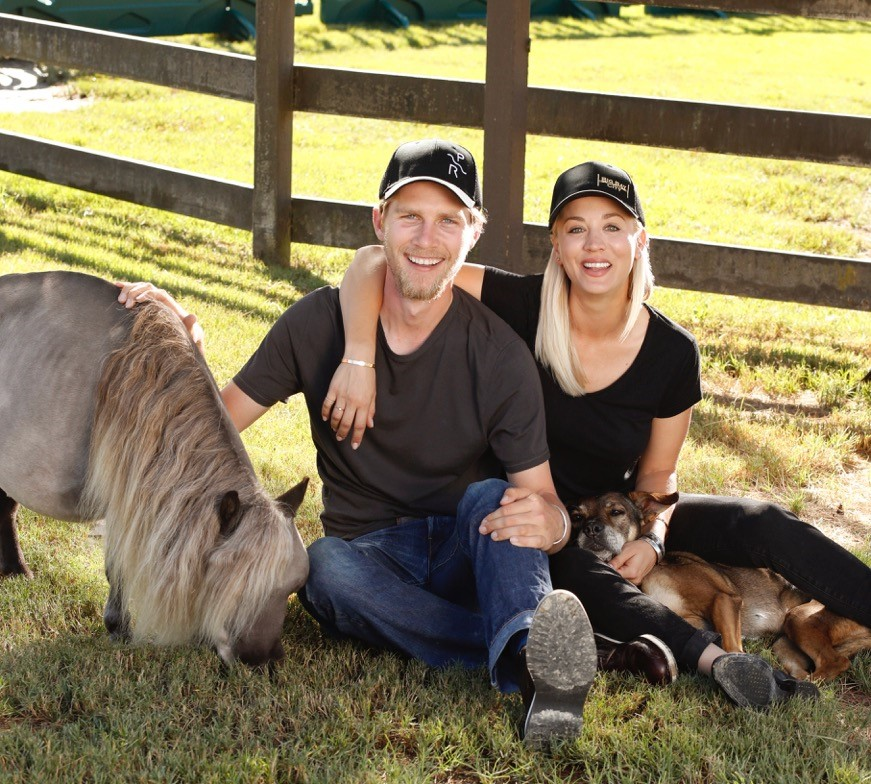 Karl Cook & Kaley Cuoco: Making a Big Bang out of Riding, Rescue and Their…