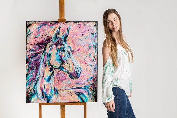 Kasia Bukowska: Passion, Poland & Painting