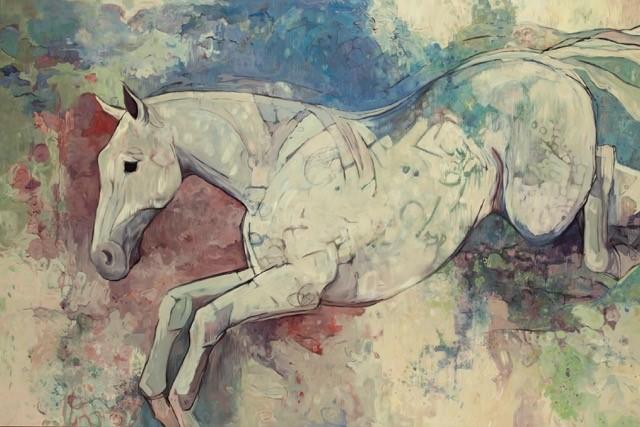 Tanner Jensen: Capturing Joy Through Painting Horses