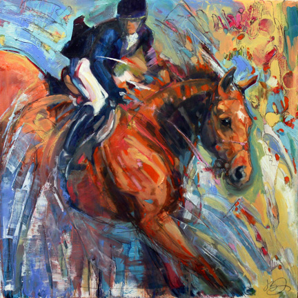 Joanna Zeller Quentin: Hooked On Horses and Art